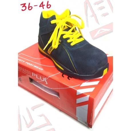 scarpe antinfortunio alte