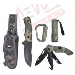 Set coltello da sopravvivenza