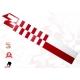 Freccia metrica bianca-rossa